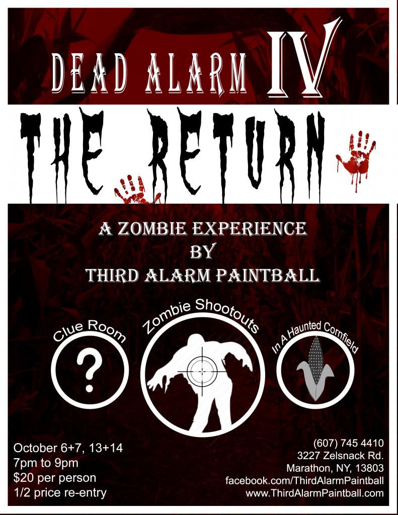 Third Alarm Paintball's Fourth Dead Alarm Halloween Event